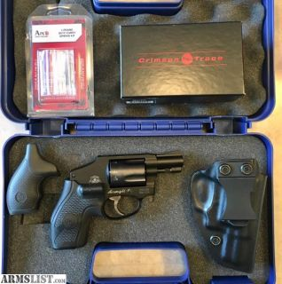 For Sale/Trade: S&W 442 Pro with Crimson Trace grips