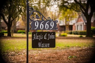 Best Personalized House Signs | House Numbers - Address America