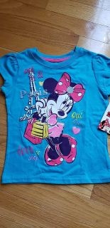 Brand New Minnie Mouse Top - Disney Size 5T
