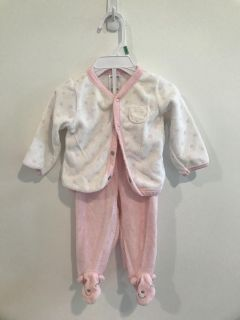 Terry Cotton Carters Set Size 3 Mo