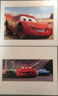 Pixar Cars prints - Lightning McQueen