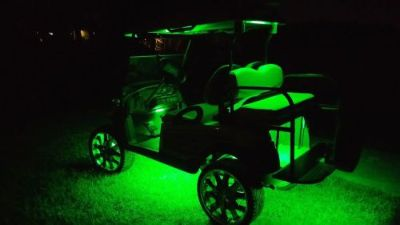 Sell Fusion 21 Color Golf Cart Stage 2 Kit LED Lighting System motorcycle in Naples, Florida, United States, for US $249.99