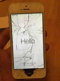 $90, Sprint IPhone 5 Cracked Screen