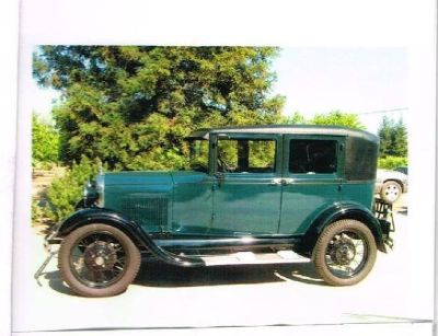 1929 Ford Model A for sale in Reedley, California.