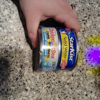 Tuna fish 2 cans, 1 can exp: june 2021 and july 2019