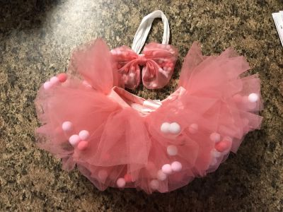 Baby girl tutu and bow