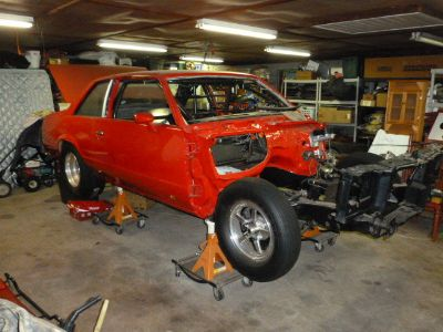 1980 Chevrolet Malibu Drag Car Project