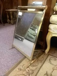 Brass Shoe Mirror