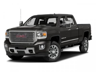 2017 GMC Sierra 2500HD Denali (Summit White)