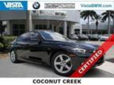 2015 BMW 3 Series 328i 39885 Miles Black Sapphire Sedan Intercooled Turbo Premiu