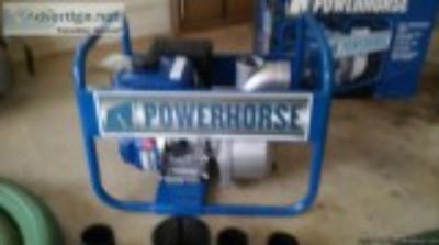 powerhorse trash pump and accessories