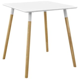 New MCM Dowel Leg Dining Table Includes FedEx Ship