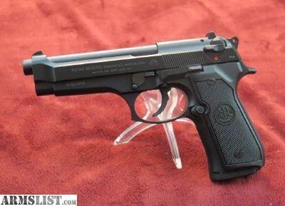 """For Sale: Beretta JS92F300 92 FS Italy 9mm 4.9"""" 10+1 Black S"""