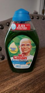 New Mr. Clean Liquid Gel Muscle Multi-purpose Cleaner with Gain Scent