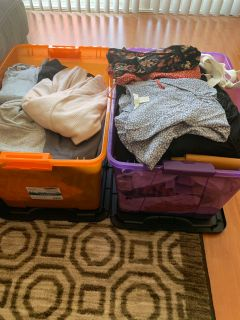 Moving Sale -Mostly Women s Clothes
