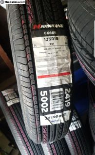 Vw tires 165R15 and 135R15