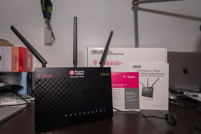 Router - AC 1900 By ASUS Wireless-AC1900 Dual-Band Gigabit