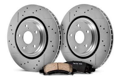 Purchase 04-06 Dodge Durango PowerStop K2165 - 1-Click Front Brake Kit Brand New motorcycle in Chicago, Illinois, US, for US $211.32