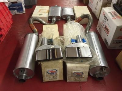 Sell 1970-73 BARRACUDA, CUDA CHALLENGER EXHAUST 340 383 426 440 ENGINES, W/RESONATORS motorcycle in Homer Glen, Illinois, United States, for US $895.00