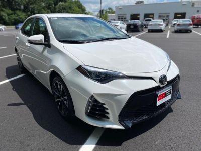 2018 Toyota Corolla L (Super White)