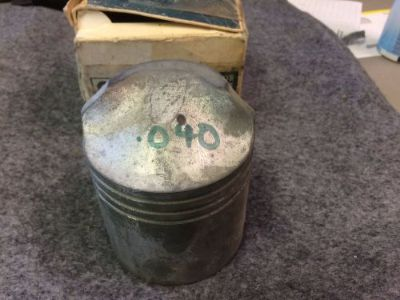 Find NOS Vintage OMC Johnson/Evinrude .040 Oversize Piston, Pt #: 380558 motorcycle in Scottsville, Kentucky, United States, for US $17.50