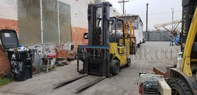 1996 HYSTER S80XLBCS 6,000 LBS PROPANE FORKLIFT