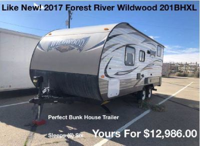 Buy from the Owner - 2017 Forest River Wildwood 201BHXL