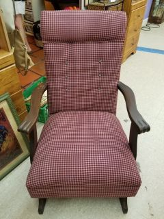Vintage Plaid Rocker 1265-1244