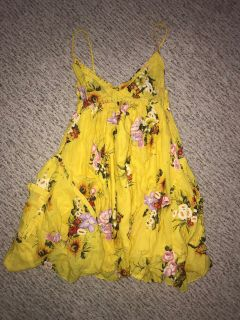 Derek Heart Baby Doll Flare Skirted Dress W/ Pocket Sz. M