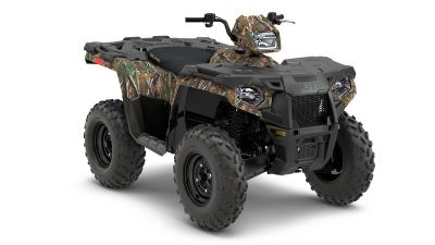 2018 Polaris Sportsman 570 Camo Utility ATVs Littleton, NH