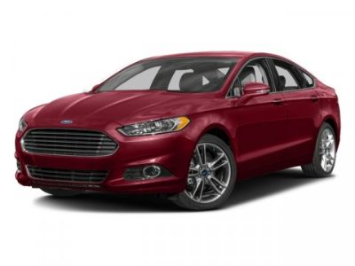 2016 Ford Fusion Titanium (Ruby Red Metallic Tinted Clearcoat)