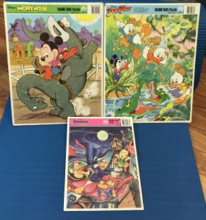 Vintage Frame-tray Puzzle Lot