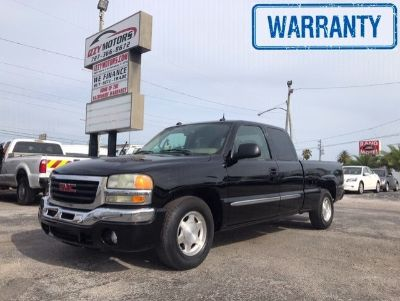 2004 GMC Sierra 1500 Work Truck (Black)