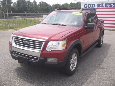 2010 Ford Explorer Sport Trac XLT (Red)