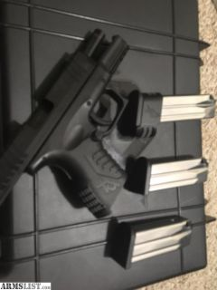 For Sale: Springfield XDM 9mm Compact