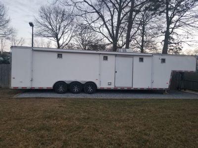 2003 40ft haulmark race trailer