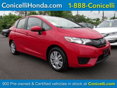 2017 Honda Fit (Milano Red)