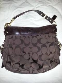 $200 OBO Large Signature Coach Hobo - Never Used - Zoe Collection