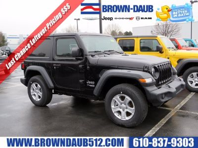 2019 Jeep Wrangler (Black Clearcoat)