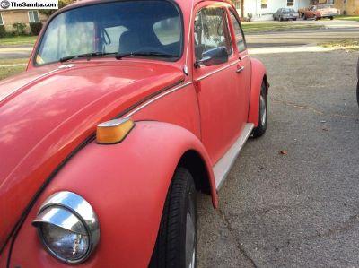1974 VW Beetle H4 1.6L 1584cc
