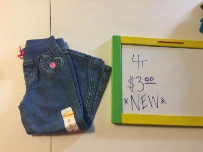 4t Jumping Bean Jeans NEW