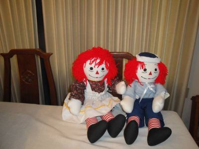 Ragged Ann  Andy Dolls