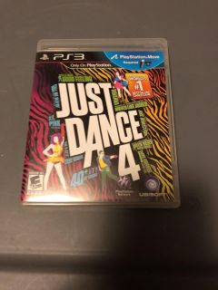 Just dance 4 for PS3