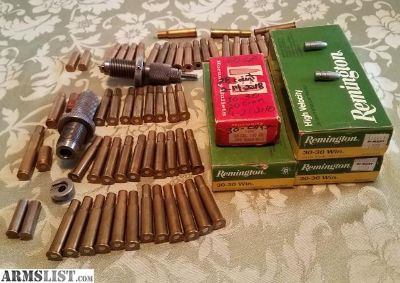 For Sale/Trade: RCBS FL Die Set & Shell Holder .30/.30 with Cases