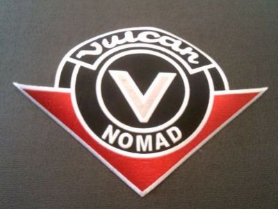 Sell *NEW* Kawasaki Vulcan Nomad motorcycle patch Large motorcycle in Florence, Colorado, United States, for US $16.00