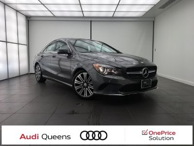 2017 Mercedes-Benz CLA-Class CLA250 4MATIC (Mountain Gray Metallic)