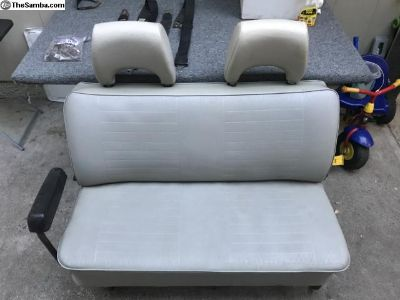 VW Bus Middle Seat Headrests & Hardware