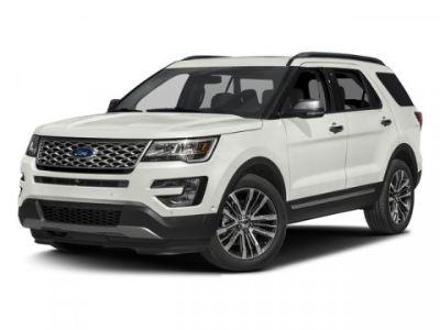 2017 Ford Explorer Platinum (White)
