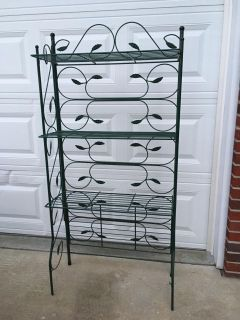 Bakers rack or patio shelves