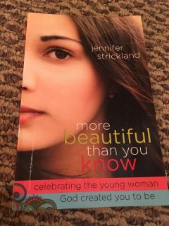 More beautiful than you know book!